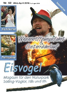 Eisvogel-Magazin Nr. 59 - März-April 2016
