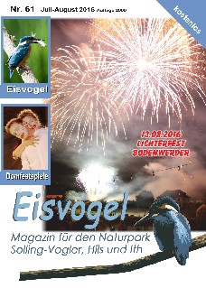 Eisvogel-Magazin Nr. 61 - Juli-August 2016