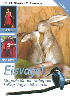 Eisvogel-Magazin Nr. 71 - März-April 2018