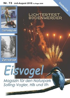Eisvogel-Magazin Nr. 73 - Juli-August 2018