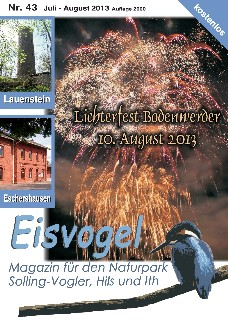 Eisvogel-Magazin Nr. 43 - Juli-August 2013